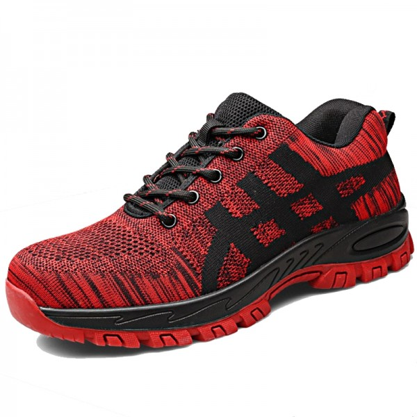 Indestructible Light  Breathable Mesh Shoes Steel Toe Work Safety Shoes Footwear